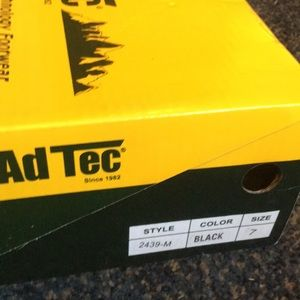 AdTec highly durable combat boots